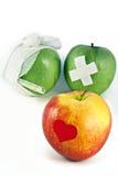 Concepto de servicios médicos públicos y de manera de vida sana Foto de archivo libre de regalías