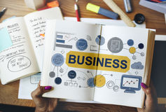 Concepto de Startup Success Growth Company de la estrategia empresarial Foto de archivo libre de regalías