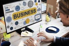 Concepto de Startup Success Growth Company de la estrategia empresarial Fotografía de archivo libre de regalías