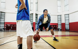 Concepto de Team Athlete Basketball Bounce Sport del coche Fotografía de archivo libre de regalías