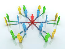 Concepto de Team Leader Fotografía de archivo libre de regalías
