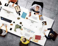 Concepto de Team Meeting Connection Digital Technology del negocio Imagen de archivo libre de regalías