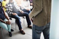 Concepto de Team Seminar Listening Corporate Conference foto de archivo libre de regalías