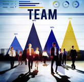 Concepto de Team Teamwork Collaboration Cooperation Partner Fotos de archivo