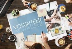 Concepto de Team Teamwork Help Share Contribute fotografía de archivo libre de regalías