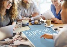 Concepto de Team Teamwork Help Share Contribute fotografía de archivo