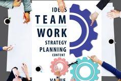 Concepto de Team Union United Cooperation Alliance del trabajo en equipo Imagenes de archivo