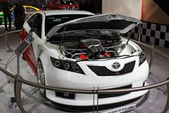 Concepto de Toyota Camry Imágenes de archivo libres de regalías