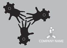 Concepto de trabajo en equipo ilustración del vector