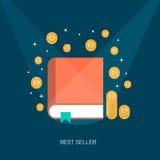 Concepto de un best seller stock de ilustración