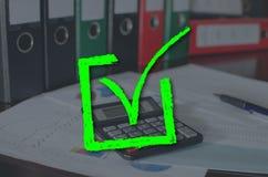 Concepto de validación fotografía de archivo
