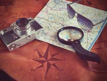 Concepto de viajar del viajero del viaje Imagen de archivo