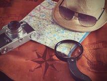 Concepto de viajar del viajero del viaje Fotos de archivo libres de regalías