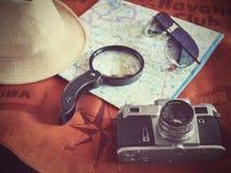 Concepto de viajar del viajero del viaje Imágenes de archivo libres de regalías