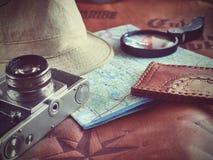 Concepto de viajar del viajero del viaje Fotografía de archivo libre de regalías