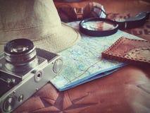 Concepto de viajar del viajero del viaje Foto de archivo