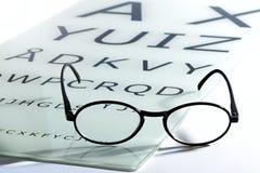 Concepto de visión y de vista Foto de archivo libre de regalías