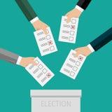 Concepto de votación stock de ilustración