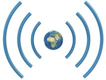 Concepto de Wifi. Fotos de archivo libres de regalías