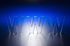Concepto de WWW Fotos de archivo