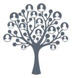 Concepto del árbol de familia Imagenes de archivo