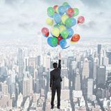 Concepto del éxito y de la creatividad Foto de archivo