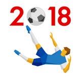 Concepto 2018 del Año Nuevo - Foto de archivo