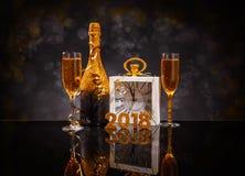 Concepto del Año Nuevo 2018 Foto de archivo libre de regalías