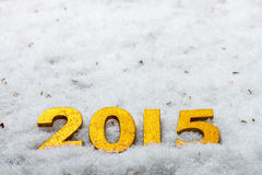 Concepto del Año Nuevo Imagen de archivo