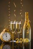 Concepto del Año Nuevo 2016 Fotografía de archivo