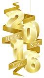 Concepto 2016 del Año Nuevo Imagen de archivo libre de regalías