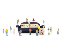 Concepto del Año Nuevo Fotos de archivo libres de regalías