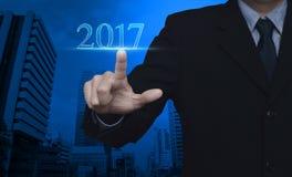 Concepto 2017 del Año Nuevo Foto de archivo libre de regalías