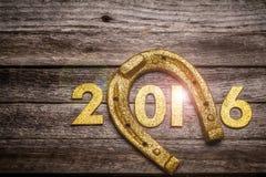 Concepto del Año Nuevo de Locky Fotos de archivo