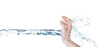 Concepto del agua imagenes de archivo