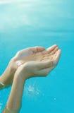 Concepto del agua Imagen de archivo libre de regalías