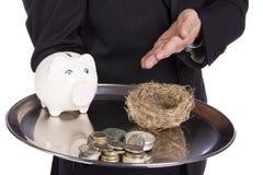 Concepto del ahorro Imagen de archivo libre de regalías