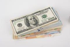 Concepto del ahorro del dinero Imagen de archivo libre de regalías
