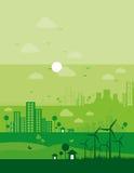 Concepto del ambiente ilustración del vector