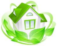 Concepto del ambiente con la casa