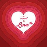 Concepto del amor Fotos de archivo libres de regalías