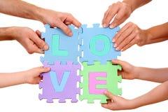 Concepto del amor imagen de archivo