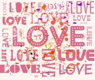 Concepto del amor, sucio Imagen de archivo libre de regalías