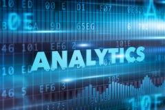 Concepto del Analytics Imágenes de archivo libres de regalías