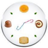 Concepto del apego de los dulces Foto de archivo