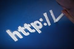 Concepto del apego del Internet Imágenes de archivo libres de regalías