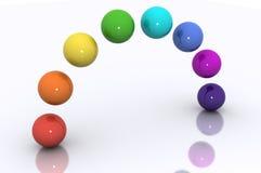 Concepto del arco iris Imagen de archivo libre de regalías