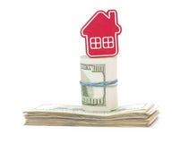 Concepto del asunto de las propiedades inmobiliarias Foto de archivo libre de regalías
