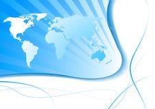 Concepto del asunto - pista global Libre Illustration