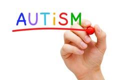 Concepto del autismo Imagen de archivo